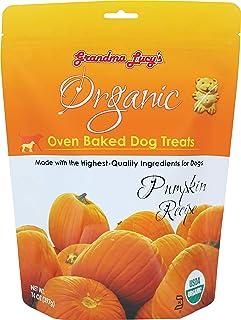 Organic Baked Dog Treats Pumpkin