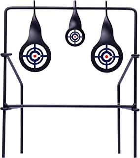 Crosman CSLT Metal Spinning Target For Use With .177-Caliber And .22-Caliber Pellets, Black