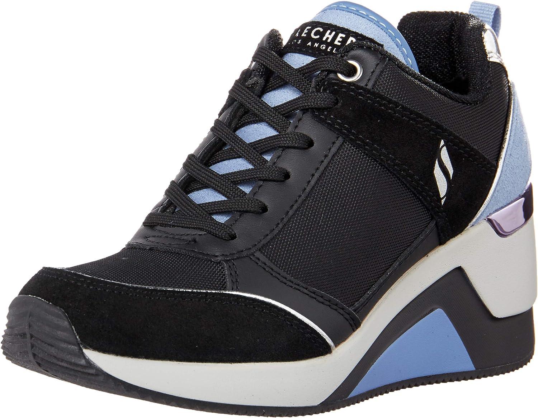 Skechers Women's Street Million-High N Fly Sneaker