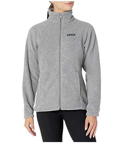 Columbia Benton Springstm Full Zip (Light Grey Heather 1) Women