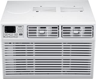 Whirlpool Energy Star 8,000 BTU 115V Window-Mounted Air Conditioner with Remote Control, White