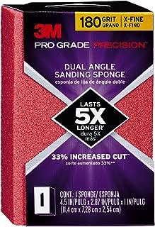 3M Pro Grade Precision 2-7/8 in. x 4-1/2 in. x 1 in. 180 Grit X-Fine Dual Angle Sanding Sponge