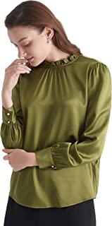 pure silk blouse material online