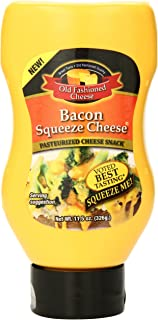 Old Fashioned Cheese Bacon Squeeze Cheese, 11.5 Ounce