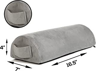 Memory Foam Pillow Supports Back, Head, Leg Knee Pain Relief, Bed, Chair seat Foot Rest..