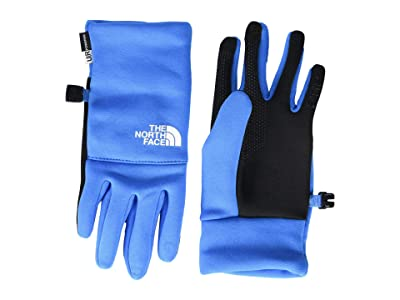 The North Face Kids Recycled Etip Gloves (Big Kids) (Clear Lake Blue) Extreme Cold Weather Gloves