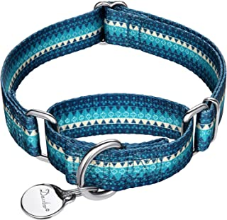 extra wide martingale dog collars