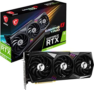 MSI Gaming GeForce RTX 3070 Ti 8GB GDRR6X 256-Bit HDMI/DP Nvlink Torx Fan 3 Ampere Architecture OC Graphics Card (RTX 3070...