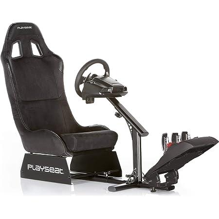 PLAYSEAT レーシングシート Evolution Black 耐久性フレーム 各ステアリングコントローラー対応 折りたたみ式設計 REM00004【国内正規品】