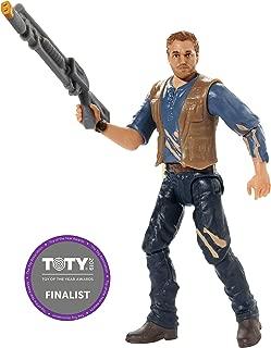 Jurassic World Basic Figure Lockwood Battle Owen
