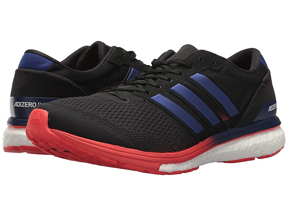 Image of adidas Running adiZero Boston 6 (Core Black/Real Purple/Hi-Res Red) Men's Running Shoes