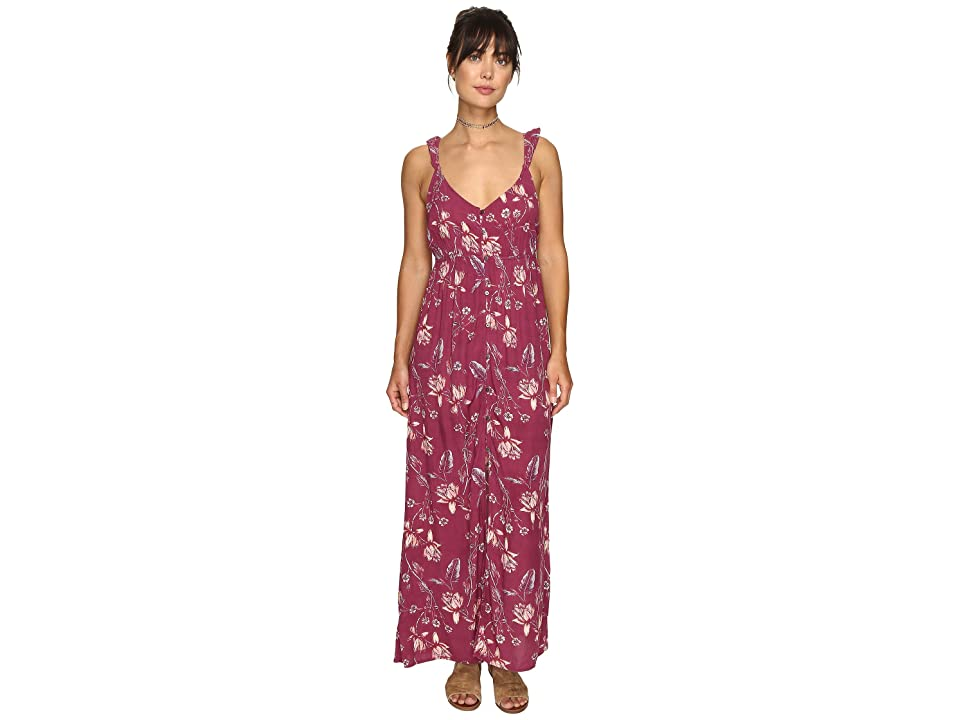 Billabong First Dreamer Maxi Dress (Sweet Plum) Women's Dress, Purple