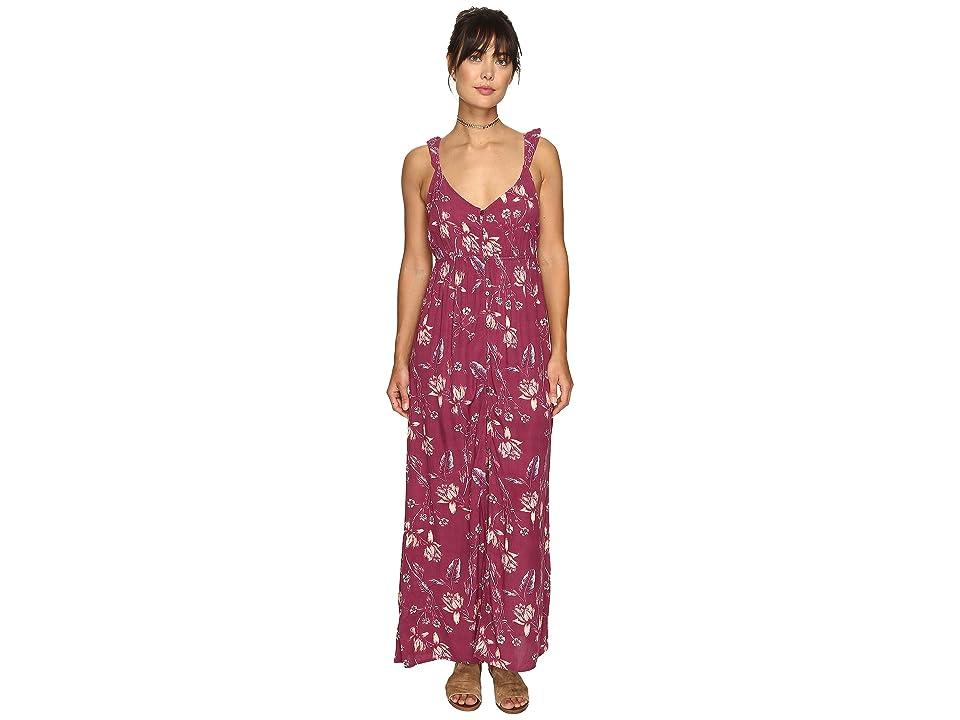 Billabong First Dreamer Maxi Dress (Sweet Plum) Women