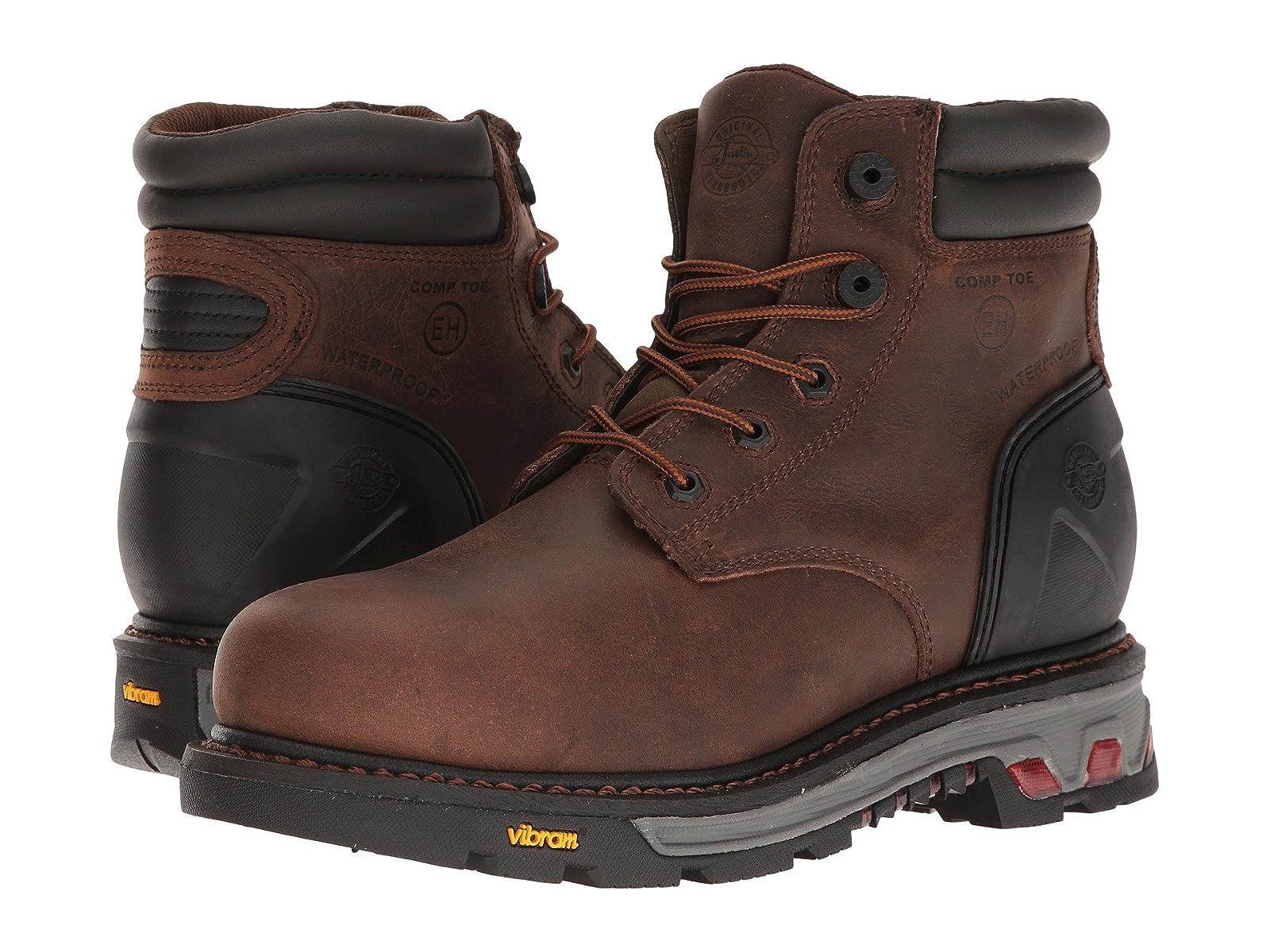 "Justin Laborer Laborer Justin 6"" Waterproof Comp Toe 29b345"