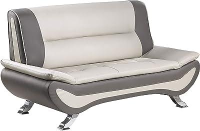 Amazon.com: R18219-1 - Silla de piel sintética de bajo ...