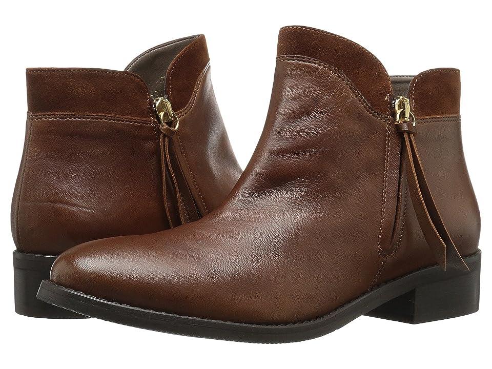 Bella-Vita Dot-Italy (Cognac Italian Leather/Suede) Women