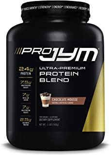 Pro JYM Protein Powder - Egg White, Milk, Whey Protein Isolates & Micellar Casein | JYM Supplement Science | Chocolate Mou...