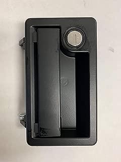 TriMark RV Door Lock 13438-04, Black with Keys