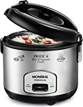 Panela Elétrica Pratic Rice & Vegetables Cooker 6 Premium, Mondial, PE-02, 127V.