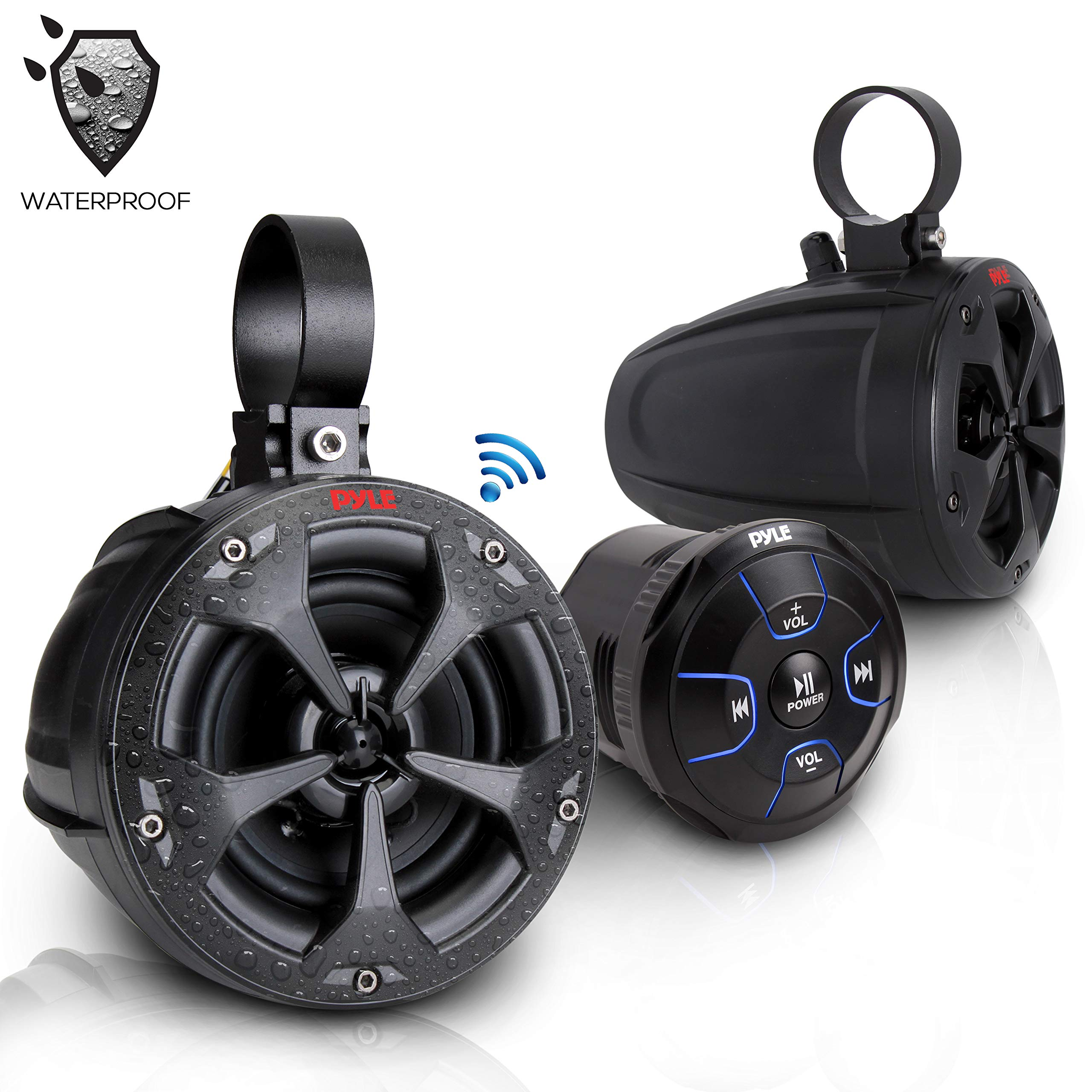 2 Way Dual Bluetooth Off Road Speakers
