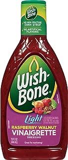 Wish-Bone Salad Dressing, Light Raspberry Walnut Vinaigrette, 15 Ounce