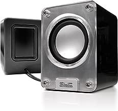 Klip Xtreme Mini II-2.0 Channel Stereo Speakers-Wired USB Powered,3.5mm Connector-10Watt Peak Power-5W RMS-2.5
