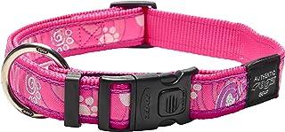 ROGZ HB02-CA Fancy Dress halsband/Armed Response, XL, roze