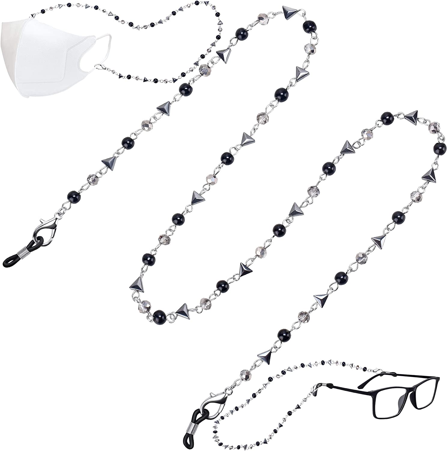 Face Mask Lanyard Stylish Beaded Holder Chain High quality Ranking TOP1 Neck