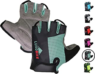 LuxoBike Cycling Gloves Bicycle Gloves Bicycling Gloves Mountain Bike Gloves – Anti..