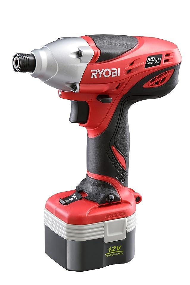 櫛積極的に刃リョービ(RYOBI) 充電式 インパクトドライバー 12V BID-1260 658425A