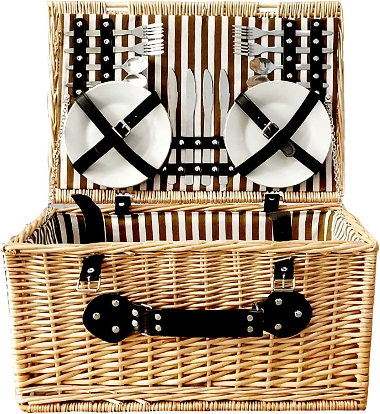 Wicker Picnic Basket Now online shopping free shipping for 4 Willow S Gift Hamper Storage Service