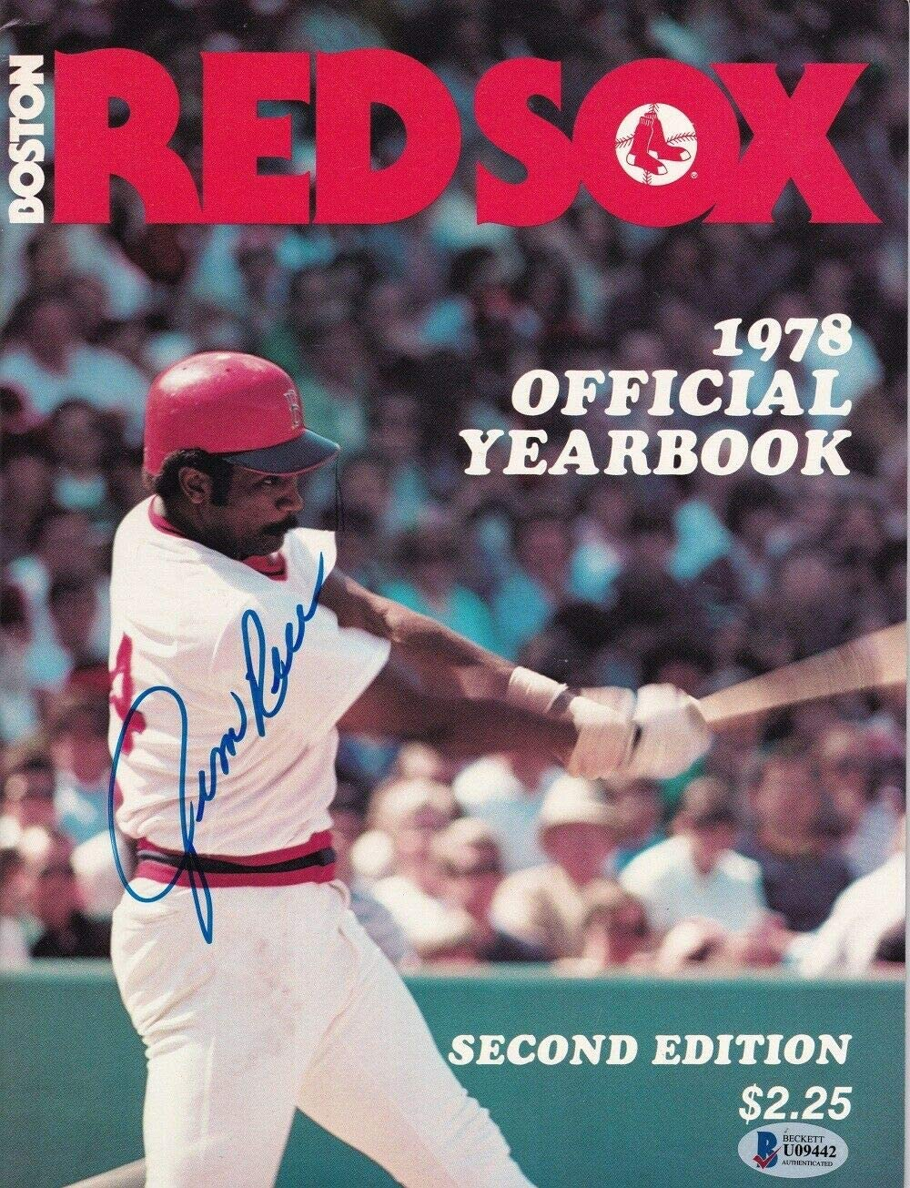 Jim Rice Autographed Signed Boston Magazi Yearbook 25% OFF 1978 Official Baltimore Mall