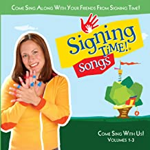 Signing Time Songs! Come Sing With Us! (Vol. 1-3)