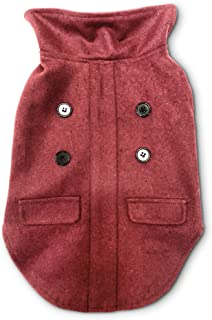 Pet Craft Supply Comfortable Stylish Soft Pea Coat Outdoor Jacket Sweater Clothes Warm Pup Dog Doggie Cat Shirt Winter Pup...