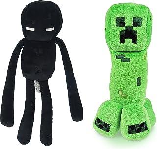 Minecraft 7 Plush Enderman & Creeper Set Of 2