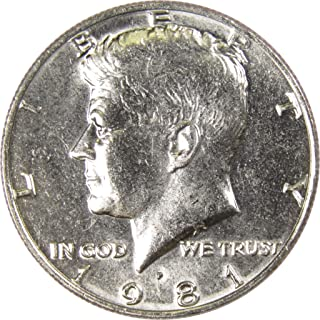 1981 P 50c Kennedy Half Dollar US Coin Uncirculated Mint State