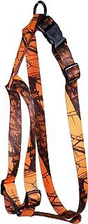 OmniPet Kwik Klip Adjustable Nylon Pet Harness, Small, Mossy Oak Blaze Orange Camouflage