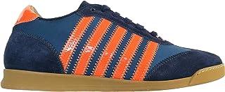 dsquared Scarpe Uomo Sneakers in Pelle Low Top W14SN419V081M467 Blu n.39