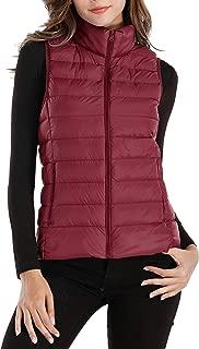 Womens Packable Ultra Lightweight Down Vest Outdoor Puffer Vest
