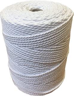 Cuerda Tendedero Ropa Exterior de Acero Recubierta de PVC Cable Tendedero Hilo Para Tender Ropa iGadgitz Home U6941 - Oro Pared Longitud 50m Jard/ín