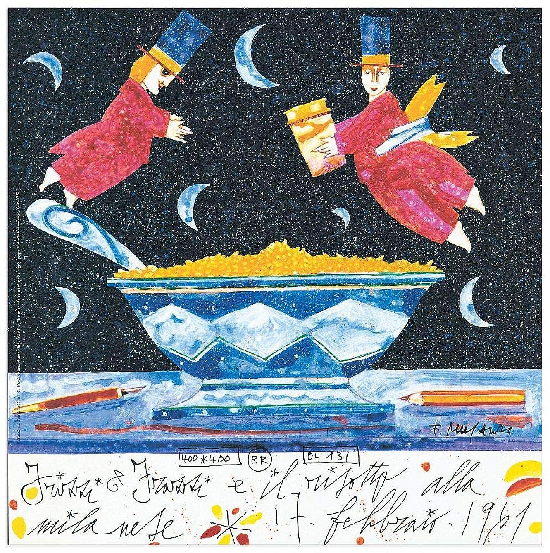 Artopweb TW18473 Decorative Panel 13.5x13.5 Inch Multicolored