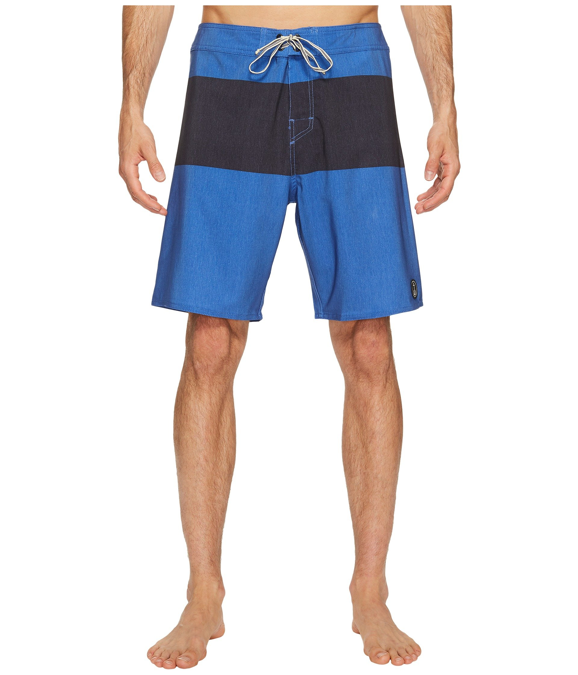 CAPTAIN FIN Harry Panel Boardshort, Blue