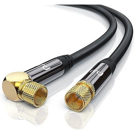 Csl 20m Sat Kabel Hdtv 90 Gewinkelt 135db Premium Elektronik