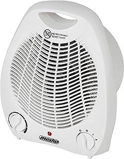 Mesko MS 7719 - Calefactor con 2 niveles de potencia, 1000 W/2000 W, aire frío, función dual, termostato, protección contra sobrecalentamiento, calefacción para hogar, cuarto de baño, camping, oficina