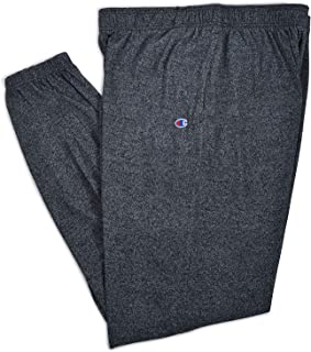 4448446517 Champion Men s Tall Big   Tall Closed Bottom Jersey Pant