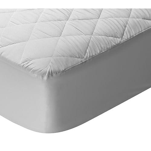 Pikolin Home - Protector de colchón acolchado cubre colchón, transpirable, 120 x 190/