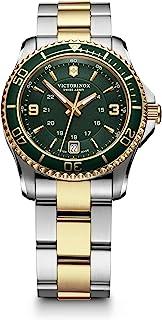 Victorinox Swiss Army Womens Quartz Watch, Analog Display and Stainless Steel Strap - 241612