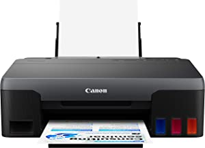 Canon G2260 All-in-One Wired Supertank (MegaTank) Printer | Copier | Scanner| USB Connectivity, Black, one Size (4466C002)