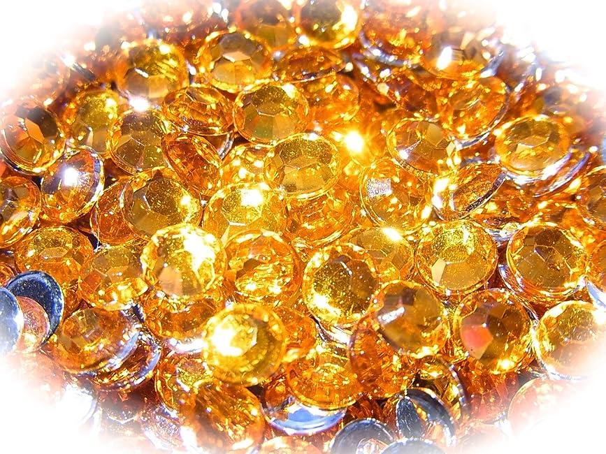 ジャーナリスト一月有効な【jewel】ls1 最高品質 ラインストーン 1.5mm?5mm グルーデコ (5mm(100粒), オレンジ)