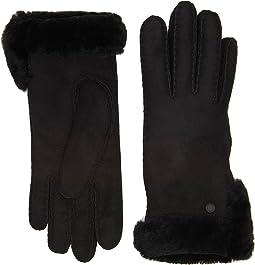 UGG - Side Vent Sheepskin Gloves with Slim Pile